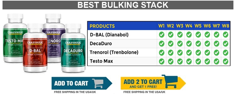 crazy bulk bulking stack legal steroids