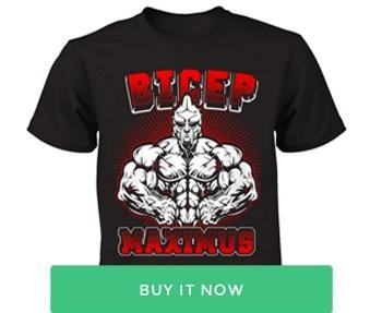 bicep tshirt
