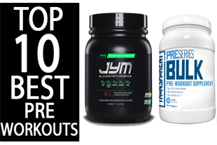 Top 10 Best Rated Pre Workout Supplements