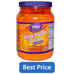 NowFoods Whey Protein Isolate