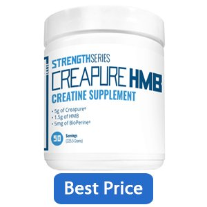 Transparent Labs Strength Series Creapure HMB Creatine