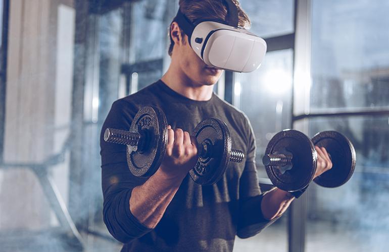 vr fitness bodybuilding workout